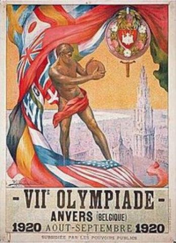 1920 Belgica/Amberes