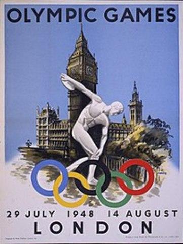 1948 Inglaterra/Londres