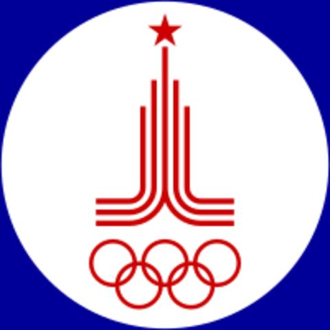 1980 Urss/ Moscú