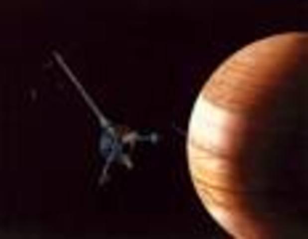 SONDA ESPACIAL GALILEO EN JUPITER