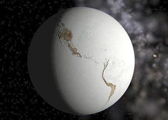 Comienzo de la Teoría de la Tierra bola de nieve