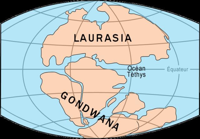 División de Pangea