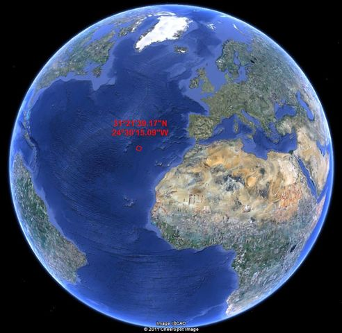 Creación del Océano Atlántico