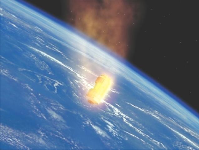 Destruction de la station Skylab