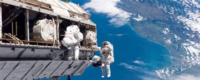 Reprise de la construction de l'ISS