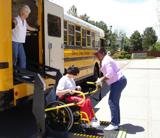 Free Transportation for Exceptional Students