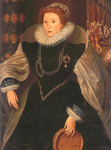 muerte de la reyna Isabel 1 de inglatera