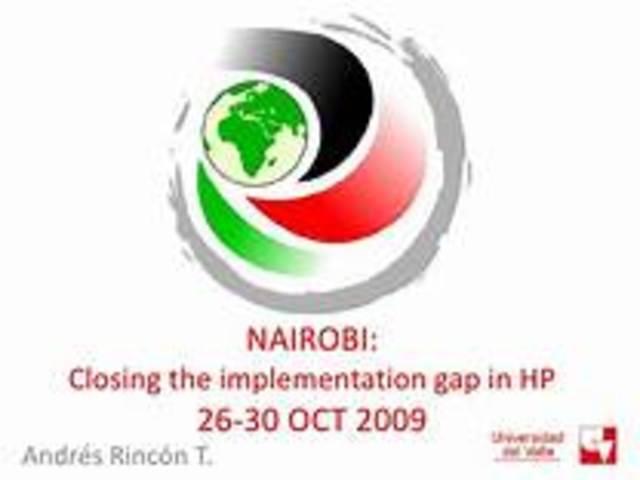 7th Global Conference on Health Promotion Nairobi, Kenya, 26-30 October 2009