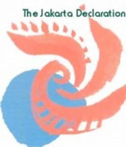 La 4ª  Conferencia Internacional sobre la Promoción de la Salud: Yakarta, República de Indonesia