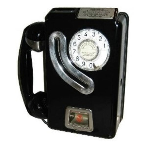 the first public telephone