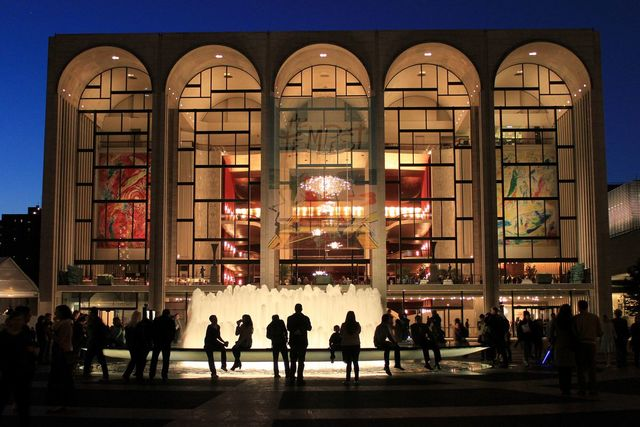 Metropolitan Opera House de Nueva York.