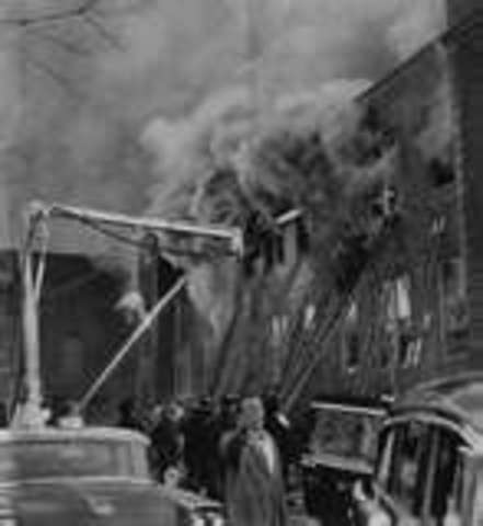 In Chicago Our Lady of Angels School burned. 92 students and 3 nuns were killed.