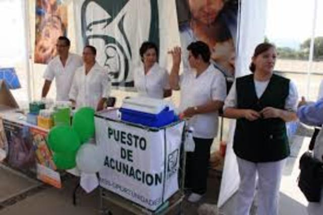 Vacunación Antivariolosa (IMSS)