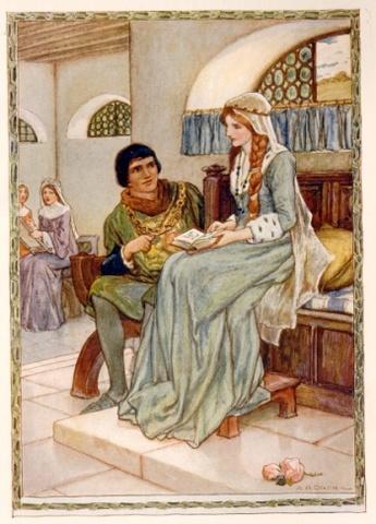 King Arthur and King Leodegrance