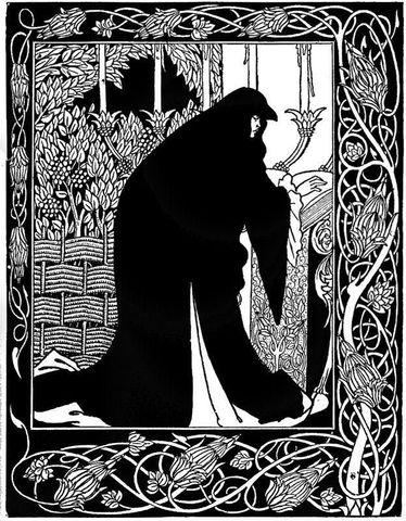 Merlin visits King Leodegrance