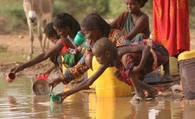 Acceso a Agua Potable sanamiento (Mundial)