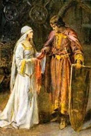 Sir Lancelot and Elaine