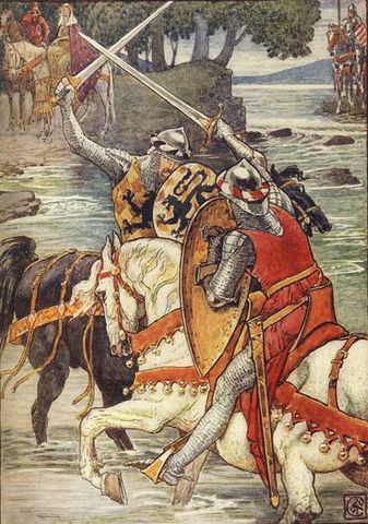The Battle of Camlann