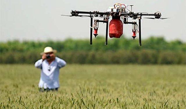 Drones agricultores