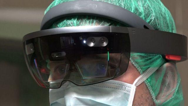 Gafas realidad mixta