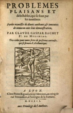 Bachet y los números primos