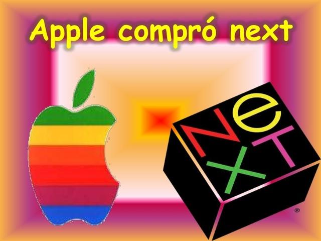 Apple compra NeXT