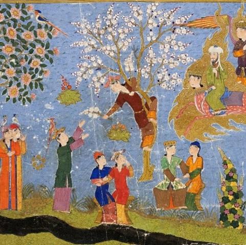 Viaje de Mahoma por el paraíso terrenal