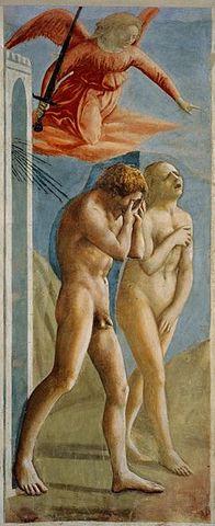 Masaccio: La expulsión de Adán y Eva del paraíso