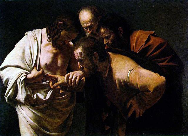 Caravaggio: La incredulidad de Santo Tomás
