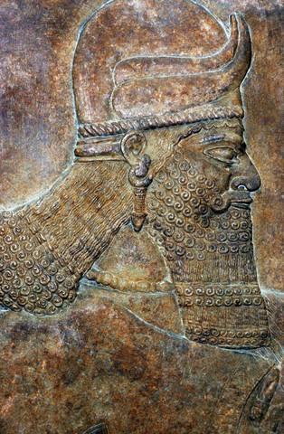 King Ashurnasirpal II of Assyria Feast