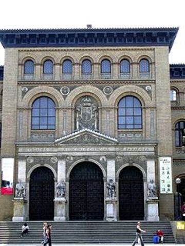 UNIVERSIDAD ZARAGOZA 1542