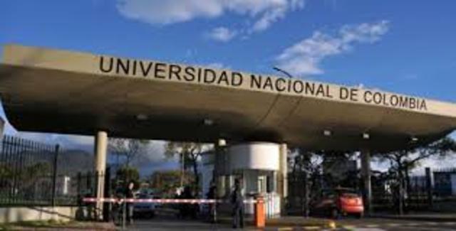 UNIVERSIDAD NACIONAL, ANTIOQUIA, CAUCA Y CARTAGENA