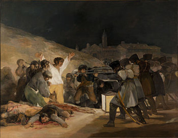 Francisco de Goya: Los fusilamientos del Tres de Mayo