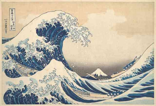 Hokusai Katsushika: La gran ola