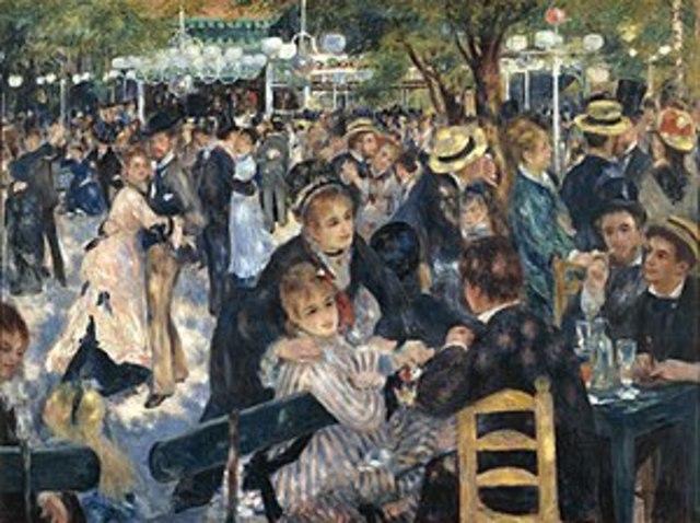Pierre-Auguste Renoir: Le Moulin de la Galette