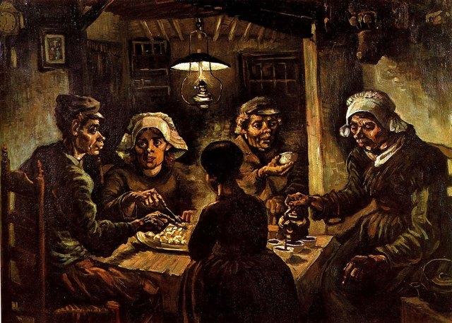Vincent van Gogh: Los comedores de patatas