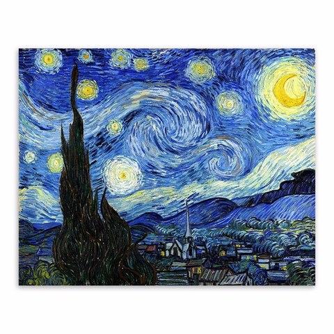 Vincent van Gogh: Noche estrellada