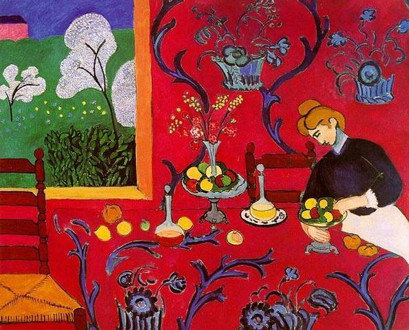 Henri Matisse: Armonía en rojo