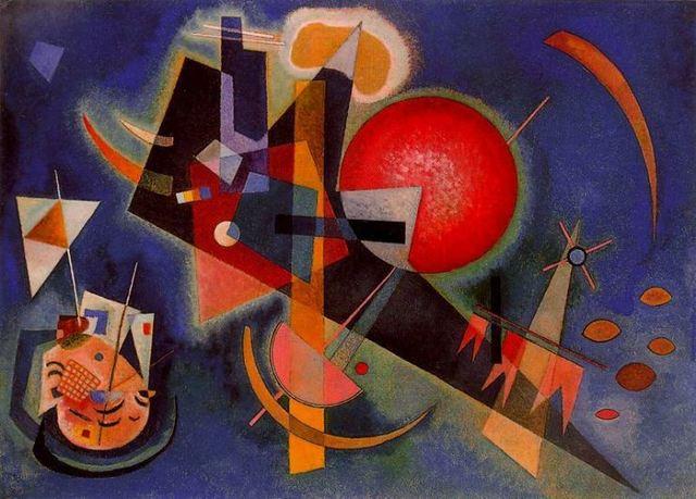 Vasily Kandinsky: En el azul