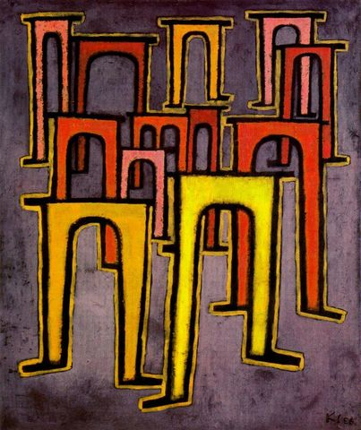 Paul Klee: Revolución del viaducto.
