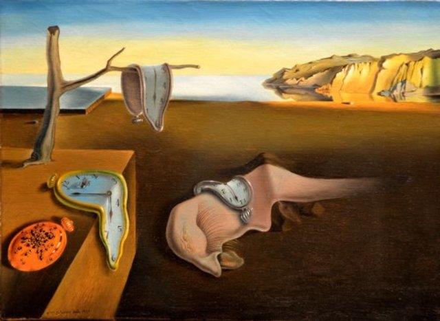 Salvador Dalí: La persistencia de la memoria