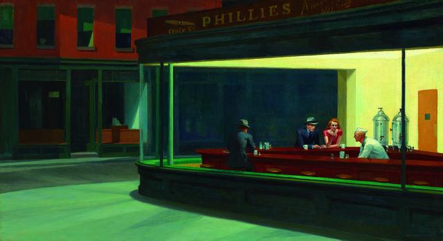 Edward Hopper: Noctámbulos