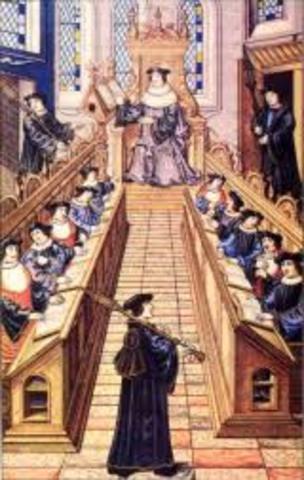 Alfonso IX de León funda Salamanca,