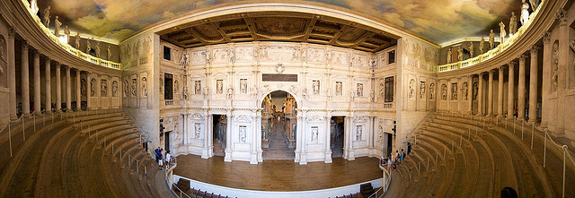 The Teatro Olympico Theater