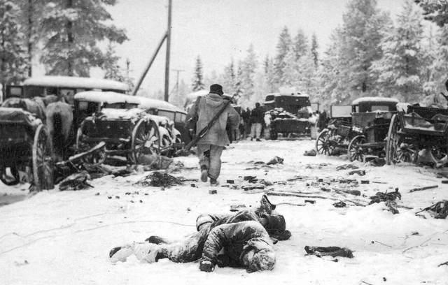 Sovjetunionen angriper Finland (vinterkrigen)