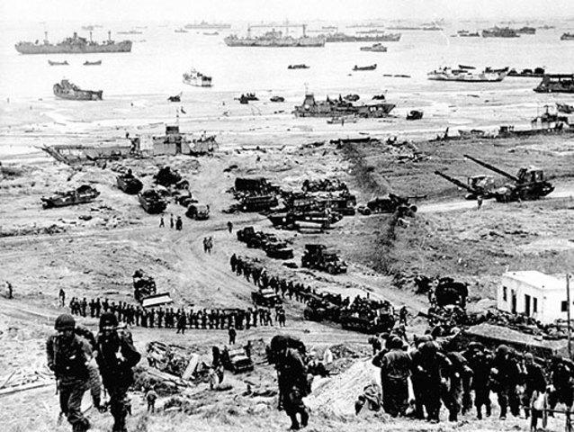 D-dagen: de allierte går i land i Sør-Frankrike