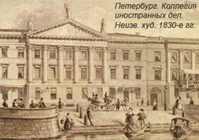 Переезд в Петербург. Служба