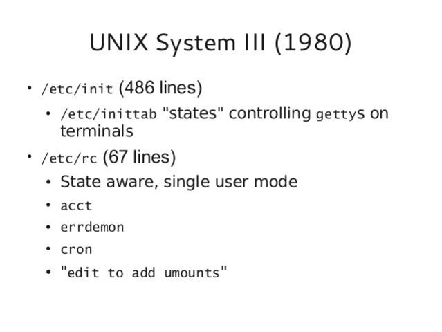 UNIX SISTEM III