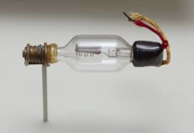 Invención del triodo