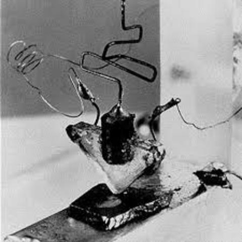 Invención del transistor de silicio